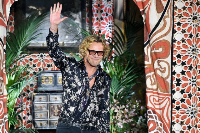 The designer Peter Dundas at Milan Fashion Week in September. He left Roberto Cavalli after less than two years in the top job at the fashion house. Credit Alberto Pizzo/Agence France-Presse — Getty Images