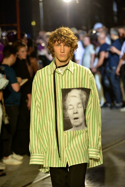 The Raf Simons show in Florence last June. Credit Chris Warde-Jones for The New York Times