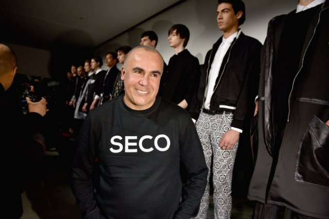 The designer Ricardo Seco. Credit Albert Urso/Getty Images for Mercedes-Benz Fashion Week