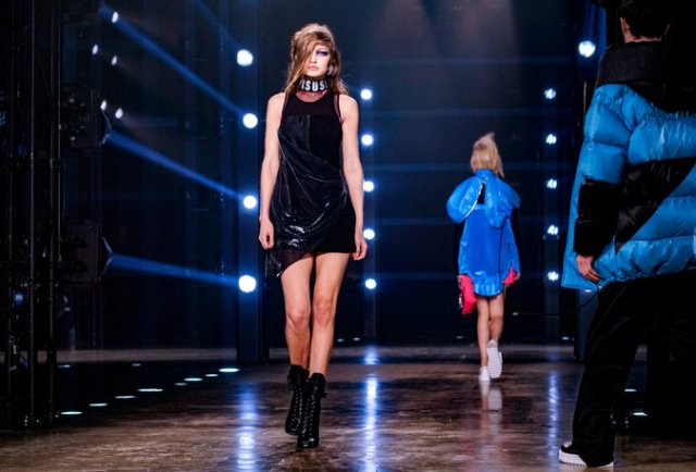 Versus Versace, fall 2017. Credit Tom Jamieson for The New York Times